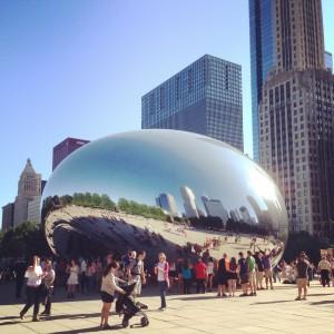 Chicago The Bean Millenium Park | Vegan Nom Noms